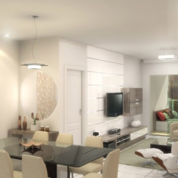 Apartamento: Living