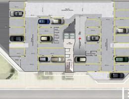 Planta do segundo pavimento (Garagem 2)